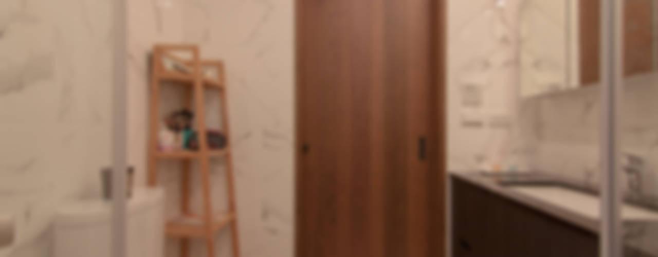 ZNY house 現代浴室設計點子、靈感&圖片 根據 珞石設計 LoqStudio 現代風