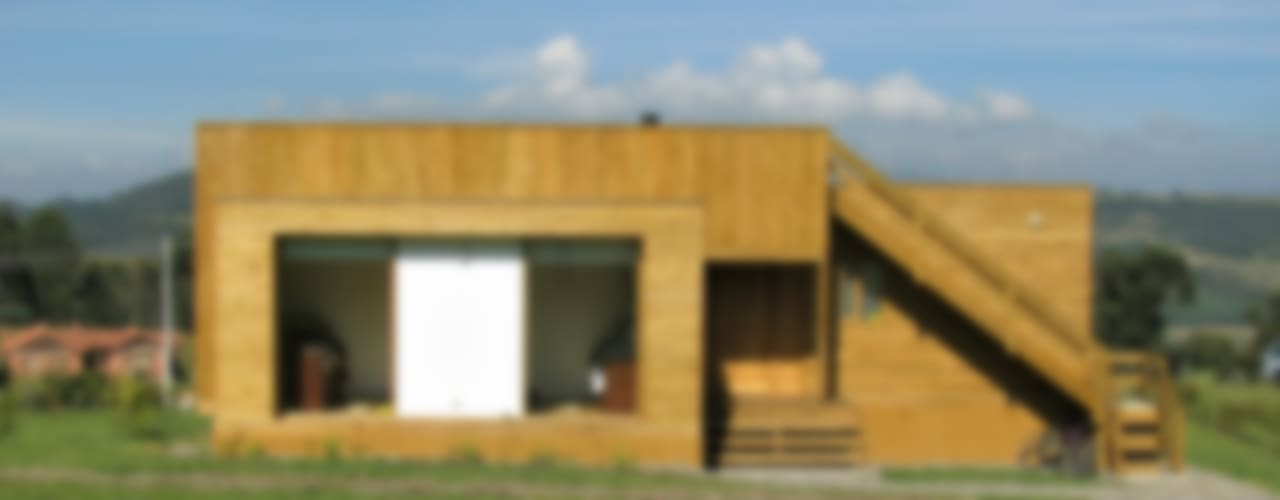 Дома в стиле модерн от Taller de Ensamble SAS Модерн