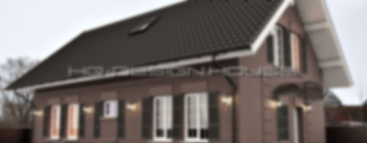 Проект коттеджа в английском стиле: Дома в . Автор – hq-design