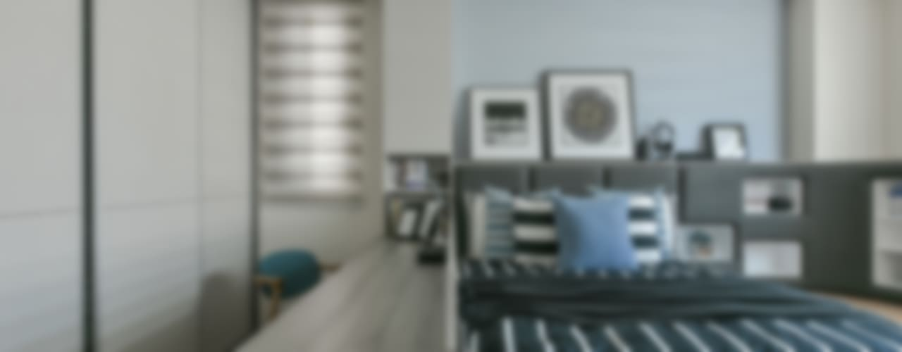 Chambre d'enfant moderne par 皇室空間室內設計 Moderne