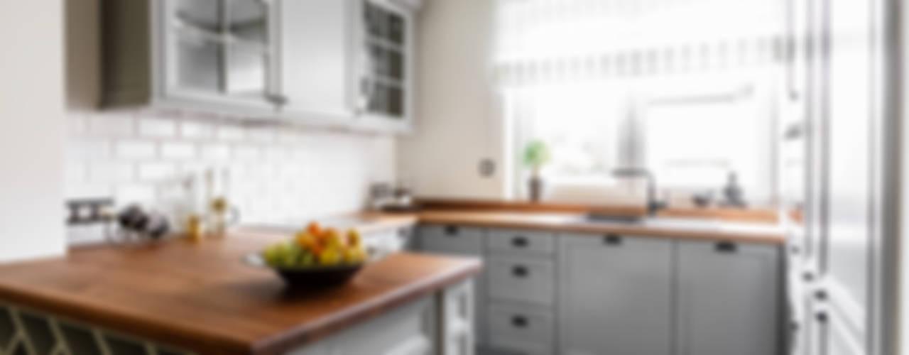مطبخ تنفيذ Anna Serafin Architektura Wnętrz,