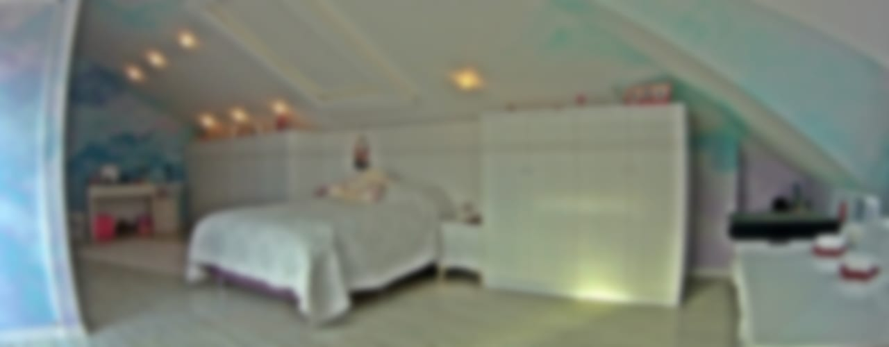 Çalışma alanı ile çatı yatakları - gençler için ideal