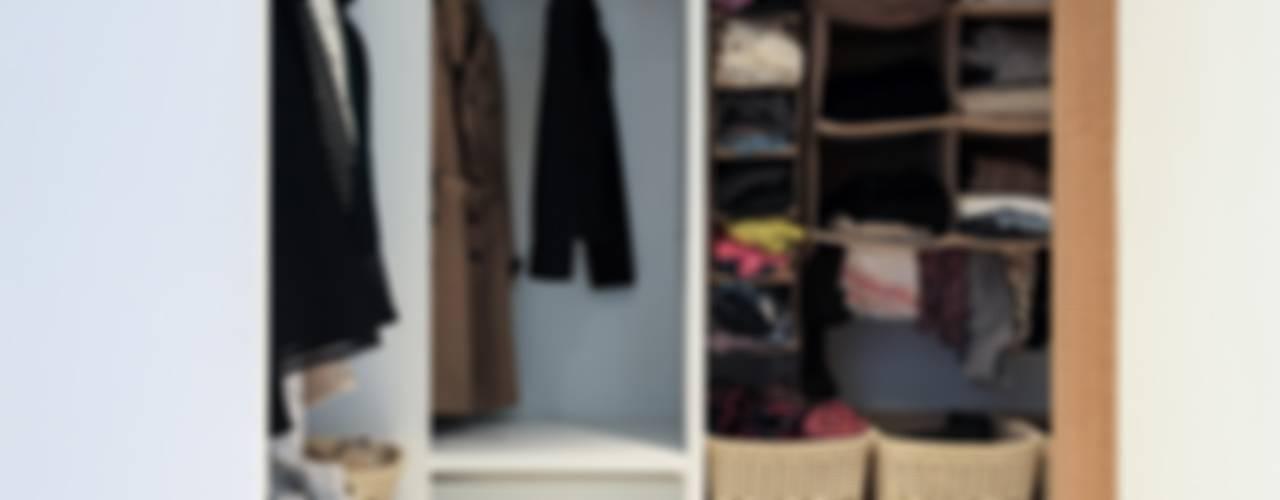 Dressing room by 微自然室內裝修設計有限公司, Modern