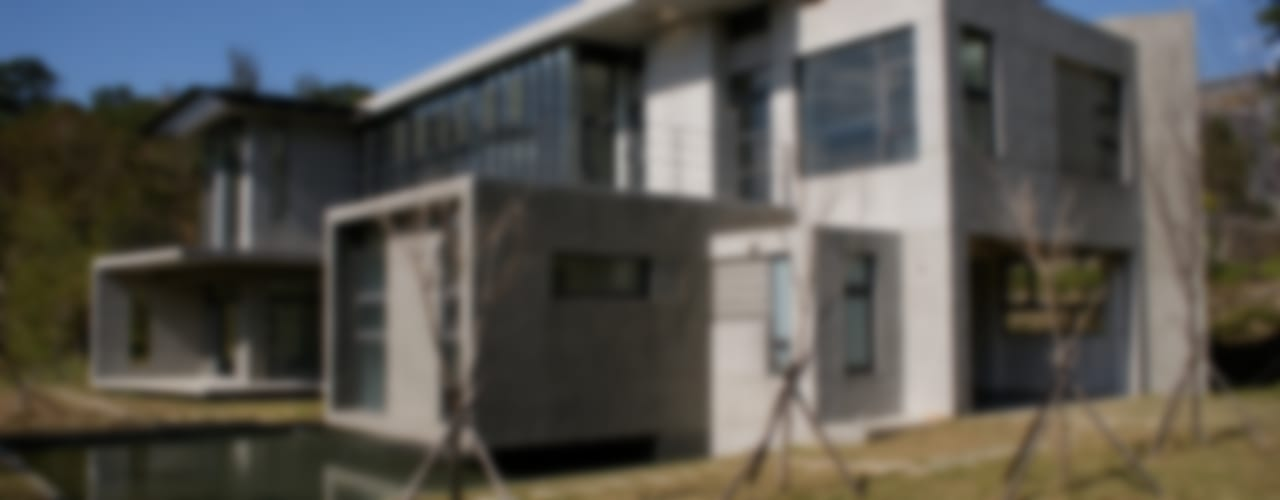 Casas de estilo  por 大也設計工程有限公司 Dal DesignGroup , Moderno