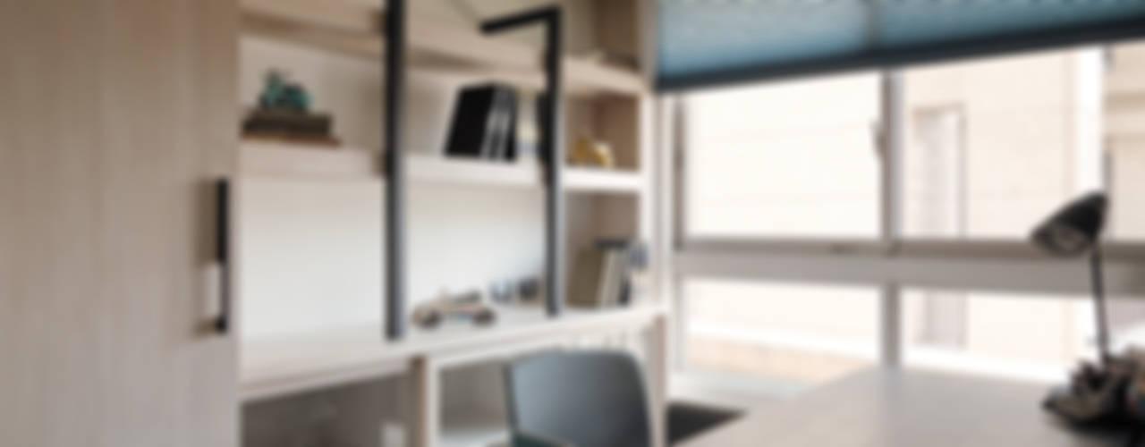 Bureau de style  par 陶璽空間設計, Minimaliste