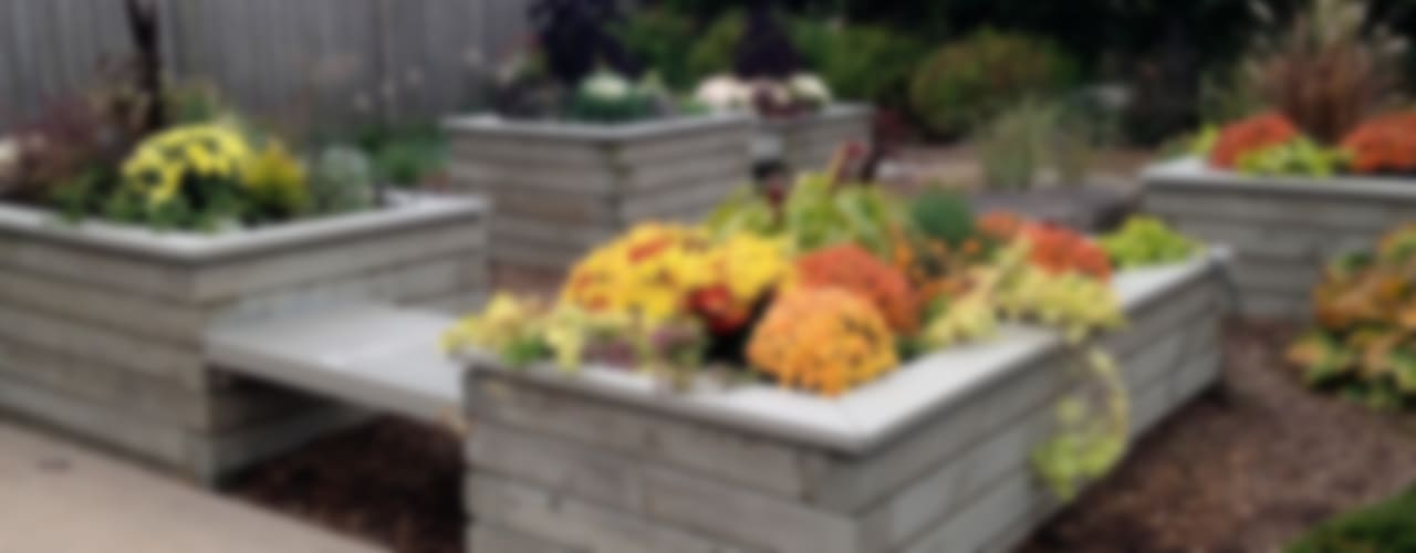 Benchscape:  Garden by Lex Parker Design Consultants Ltd.,