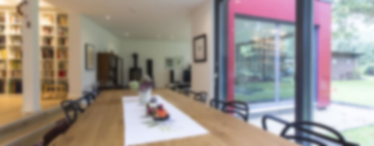 Modern dining room by Architekturbüro Prell und Partner mbB Architekten und Stadtplaner Modern