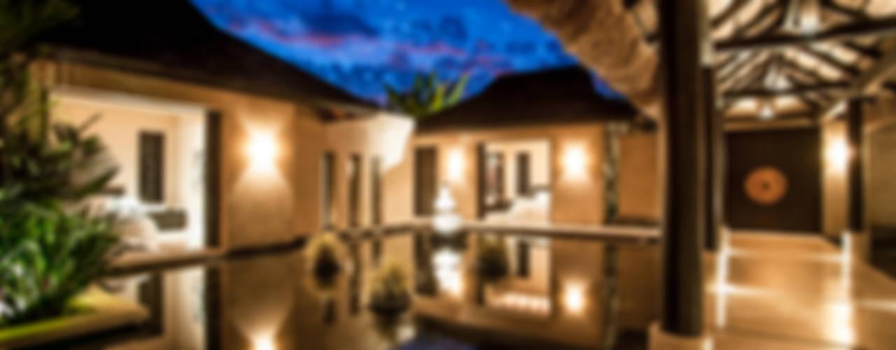 Fotografía de arquitectura - Villa Siriyana, Punta Mita, Nayarit Casas tropicales de Arcencielstudio Tropical