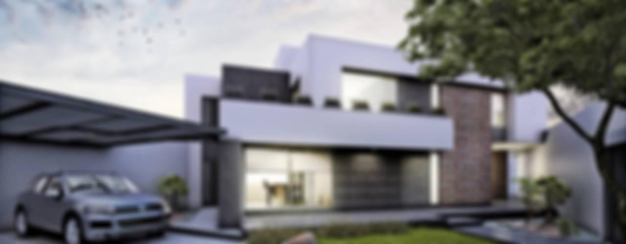CASA MALINTZIN: Casas de estilo  por Estudio Meraki