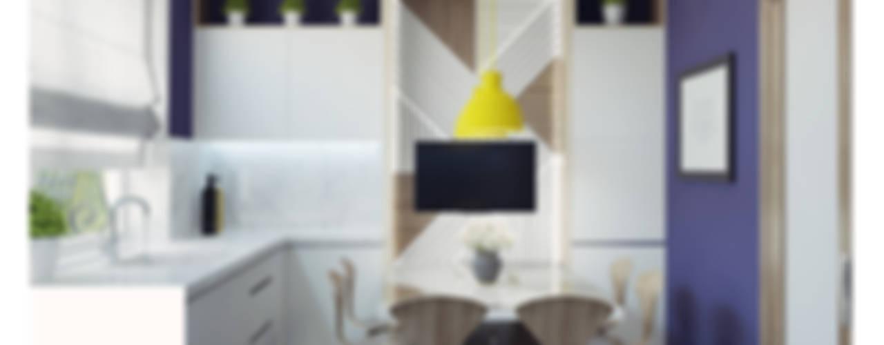 Projekty,  Kuchnia zaprojektowane przez Ksenia Konovalova Design