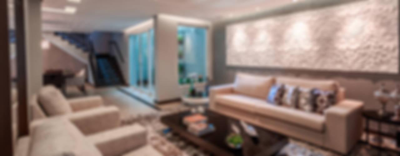 Living room by Das Haus Interiores - by Sueli Leite & Eliana Freitas,