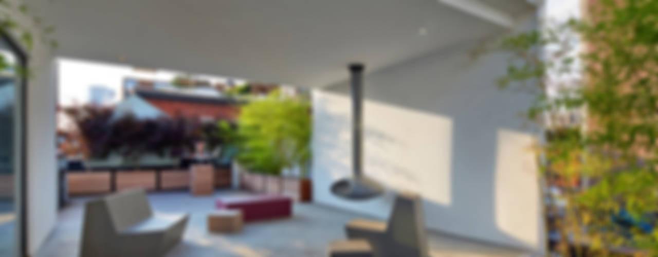 Soho Penthouse:  Patios & Decks by SA-DA Architecture, Modern