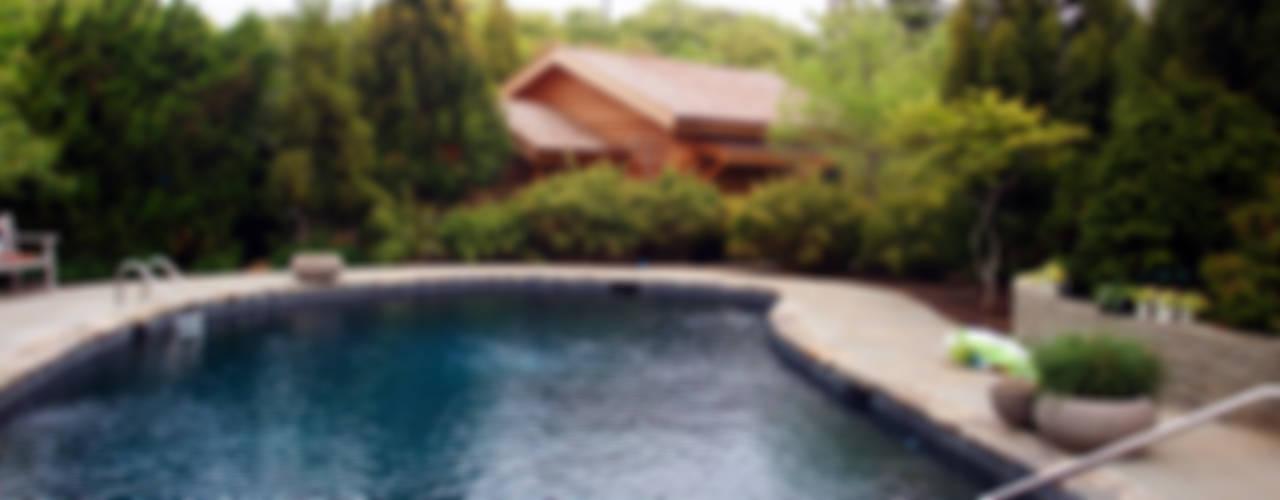 SA-DA Architecture Modern pool