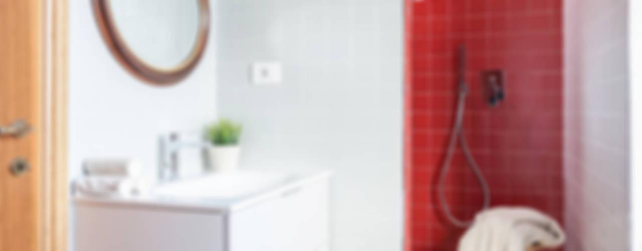 minimalistic Bathroom by OKS ARCHITETTI