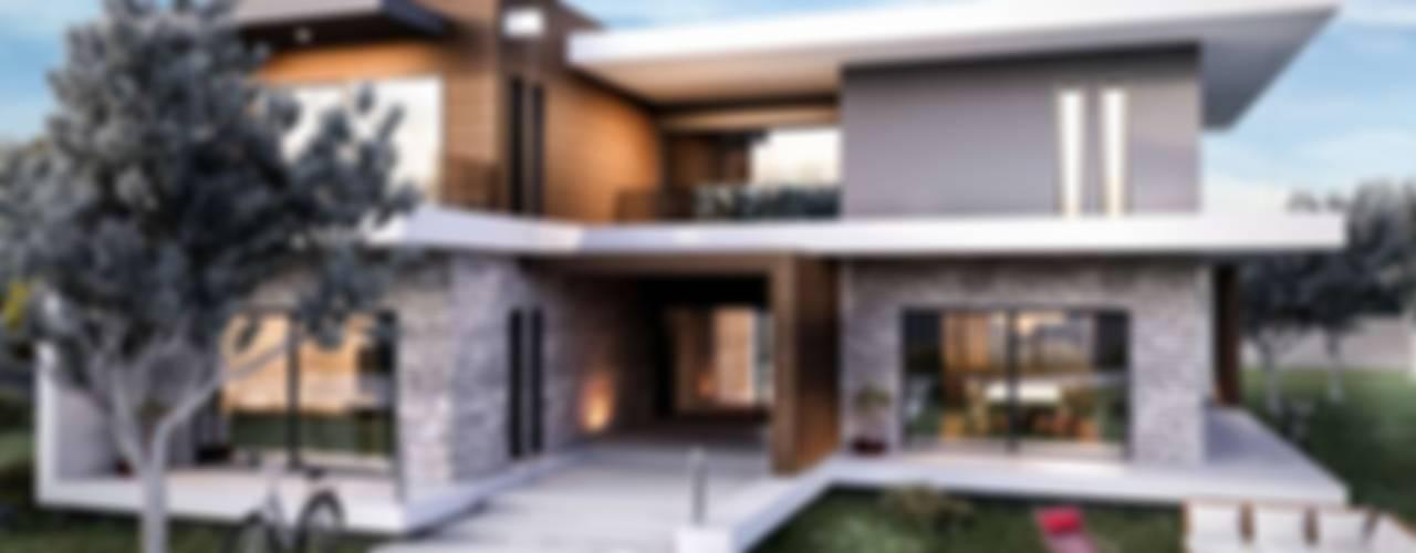 Güzelbahçe Villa Modern Evler VERO CONCEPT MİMARLIK Modern