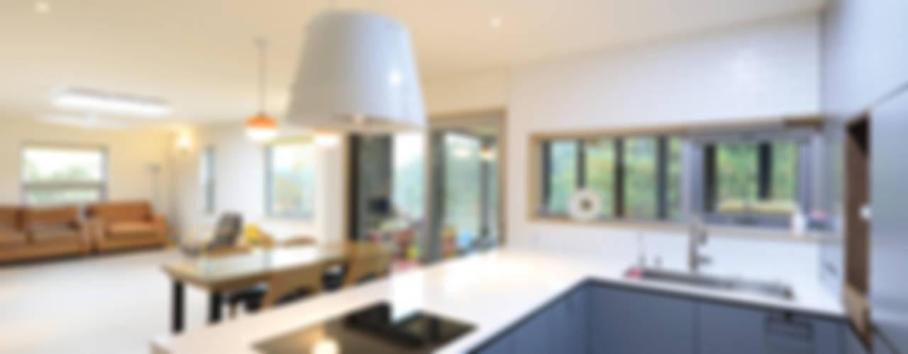モダンな キッチン の 주택설계전문 디자인그룹 홈스타일토토 モダン