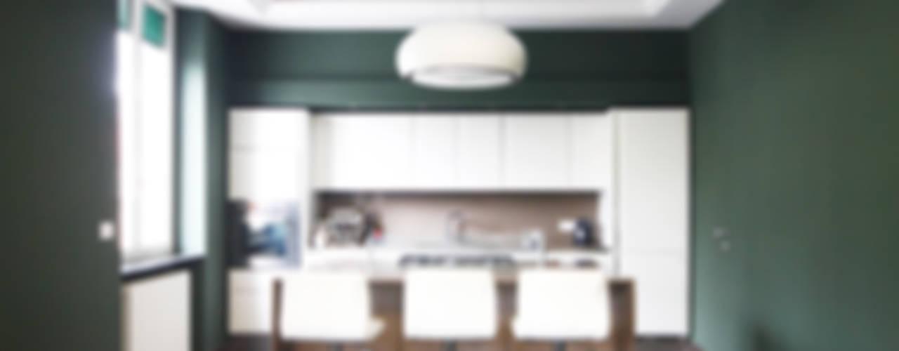 Minimalistyczna kuchnia od Andrea Orioli Minimalistyczny