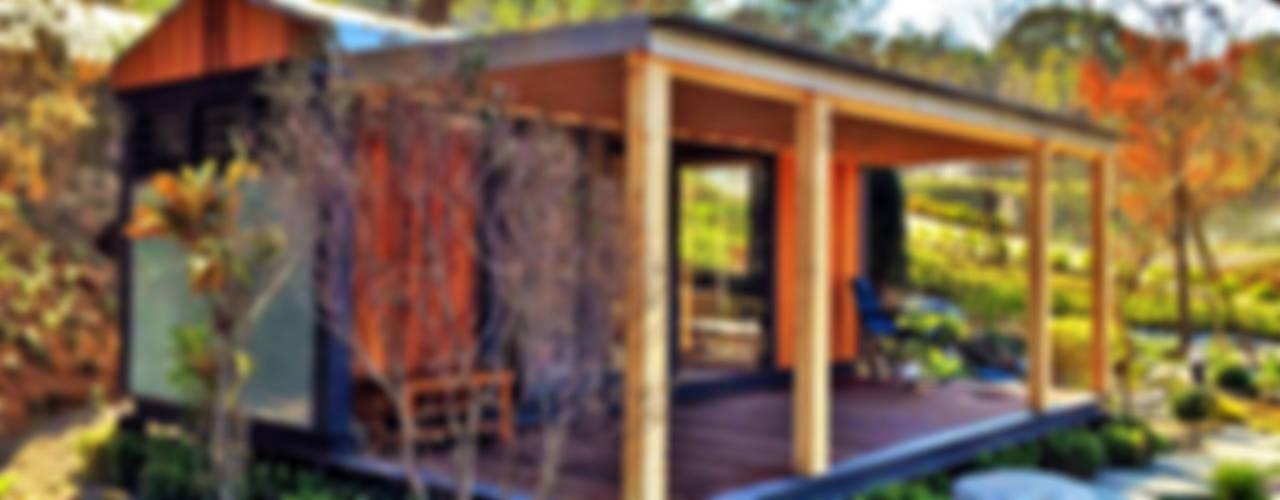 Projekty,  Taras zaprojektowane przez FAMWOOD 自然紅屋