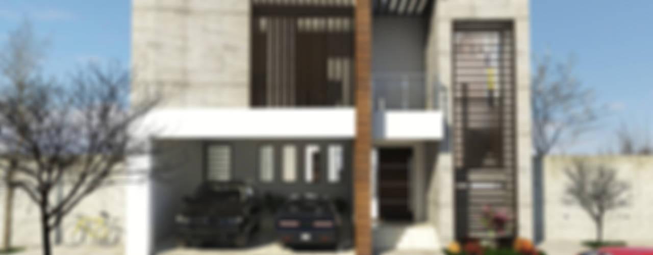 Casas de estilo moderno de RJ Arquitectos Moderno