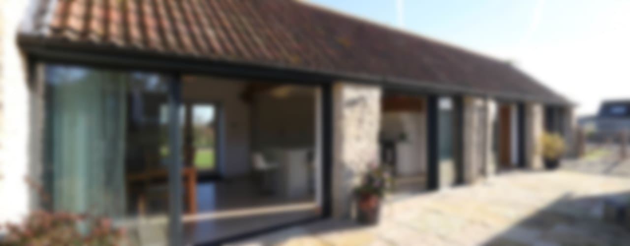 Stable Barn Country style houses by IQ Glass UK Country