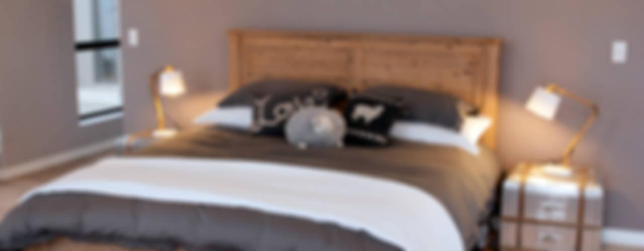 Dormitorios rústicos de Urban Habitat Architects Rústico