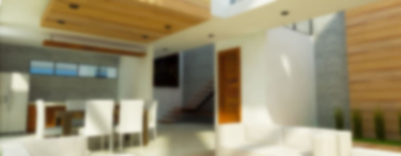 Livings de estilo  por DLR ARQUITECTURA/ DLR DISEÑO EN MADERA
