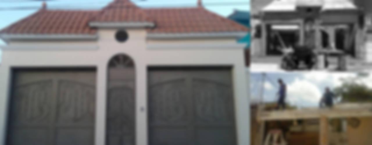 """CASA """"PICCOLA ITALIA"""" : Casas de estilo  por SG Huerta Arquitecto Cancun"""