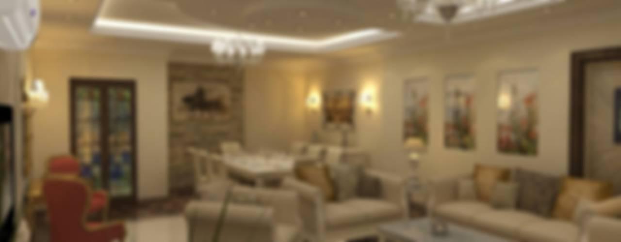 Salas / recibidores de estilo  por الرواد العرب, Clásico
