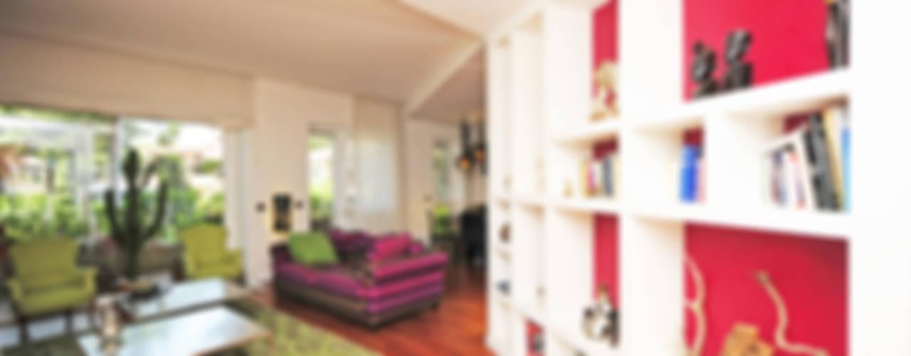 Living room by Fabiola Ferrarello architetto