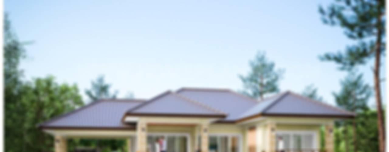 Projekty,   zaprojektowane przez แบบแปลนบ้านสำเร็จรูป