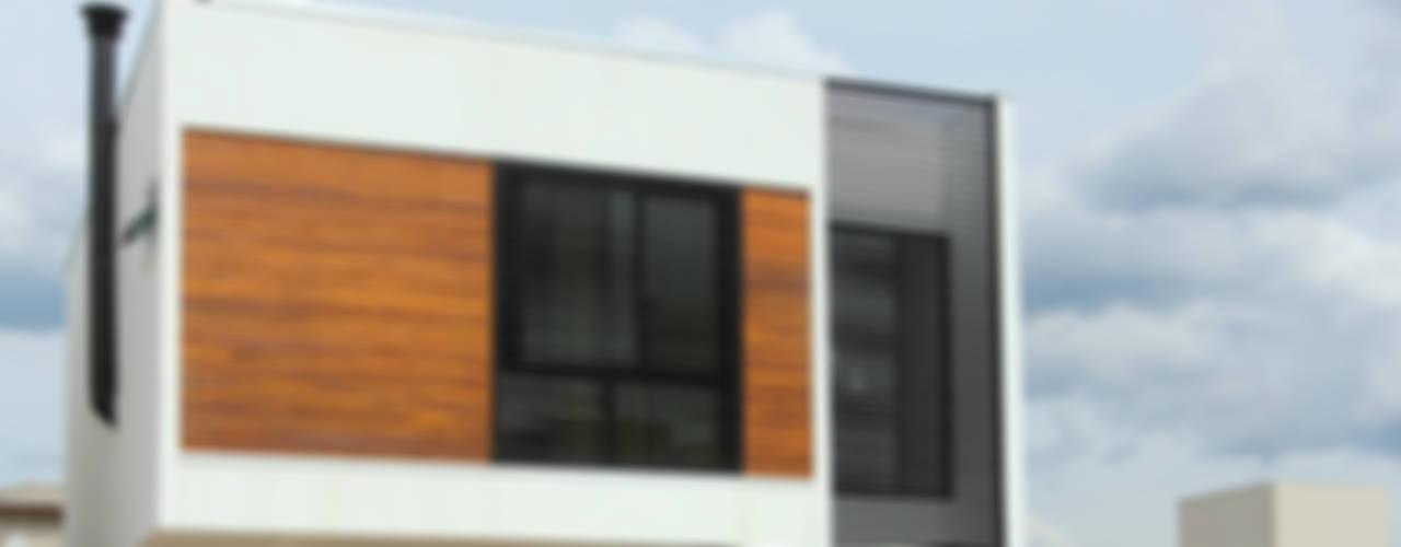 Maisons modernes par Taguá Arquitetura Moderne