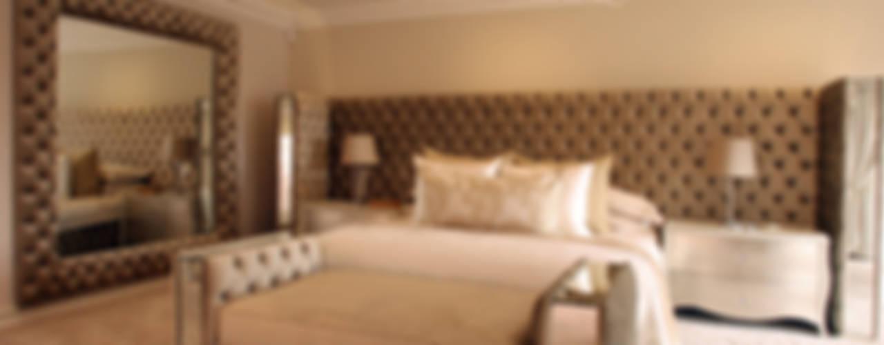 غرفة المعيشة تنفيذ Tru Interiors,