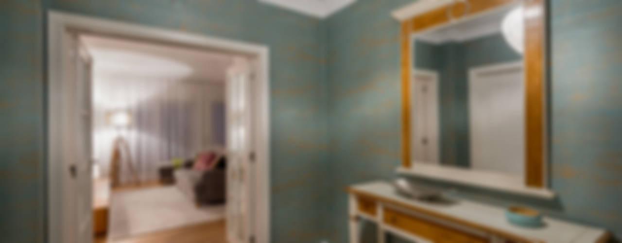 Stoc Casa Interiores Ingresso, Corridoio & Scale in stile moderno Turchese