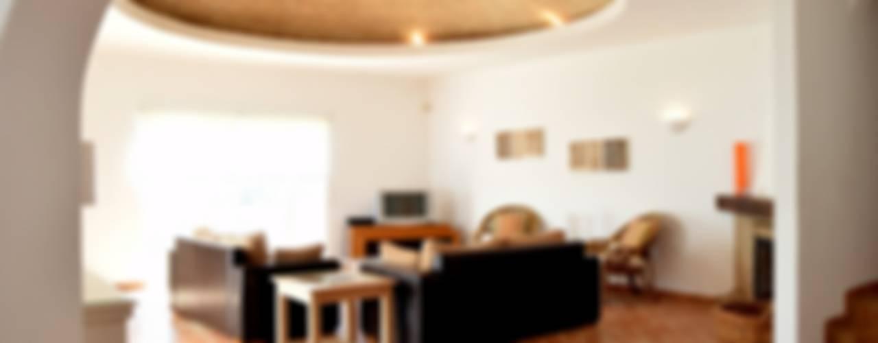 rustic Living room by Engel & Voelkers Vilamoura