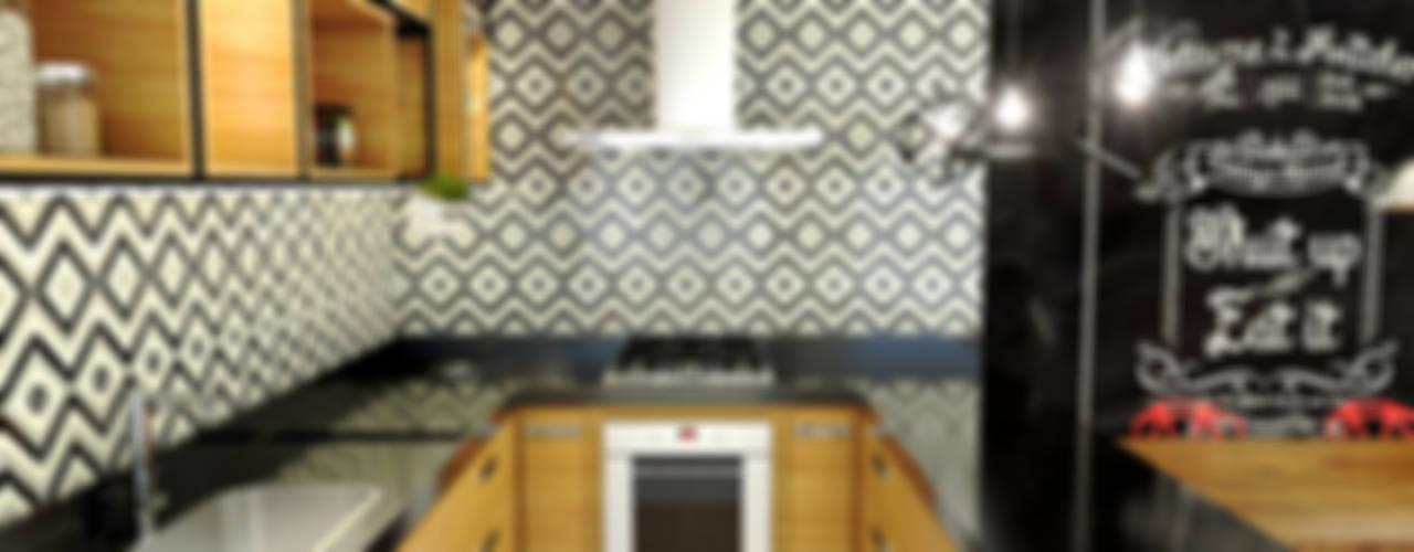 Cocinas de estilo  por Bruna Rodrigues Designer de Interiores