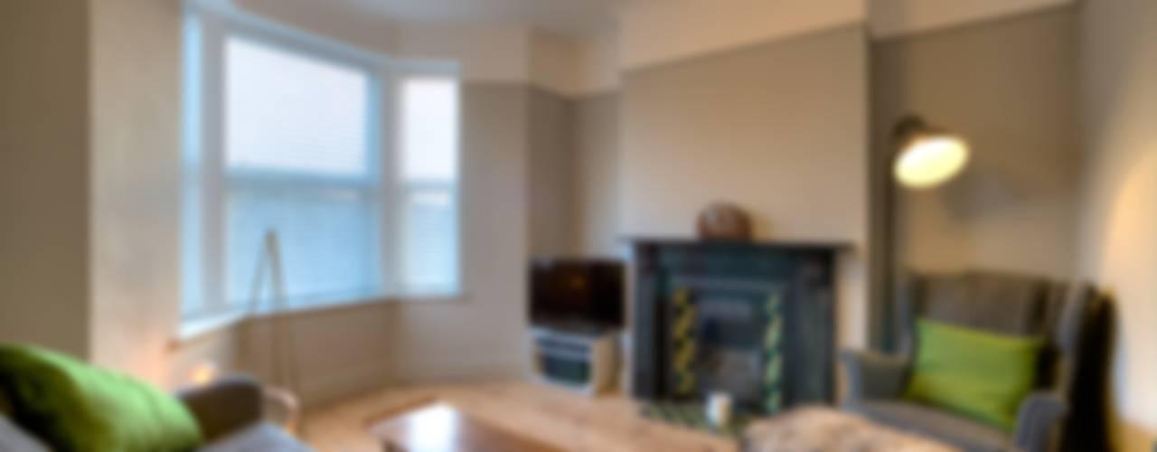 minimalistic Living room by ADG Bespoke