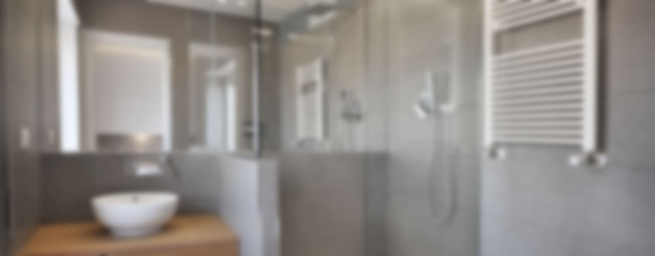 degma studio Modern style bathrooms