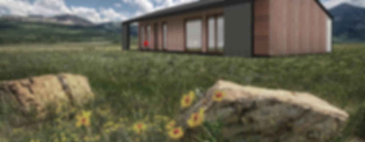 Terraza - corredor : Terrazas  de estilo  por Smartlive Studio