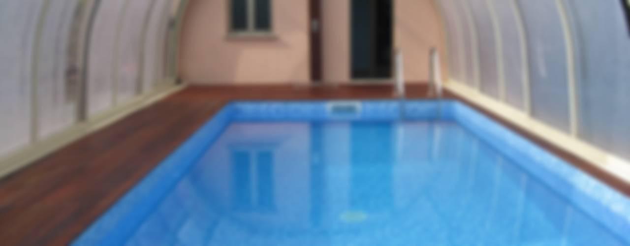 Piscinas de estilo moderno de Aquazzura Piscine Moderno