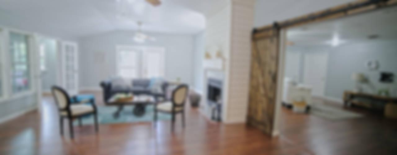 Kırsal Oturma Odası Noelia Ünik Designs Kırsal/Country