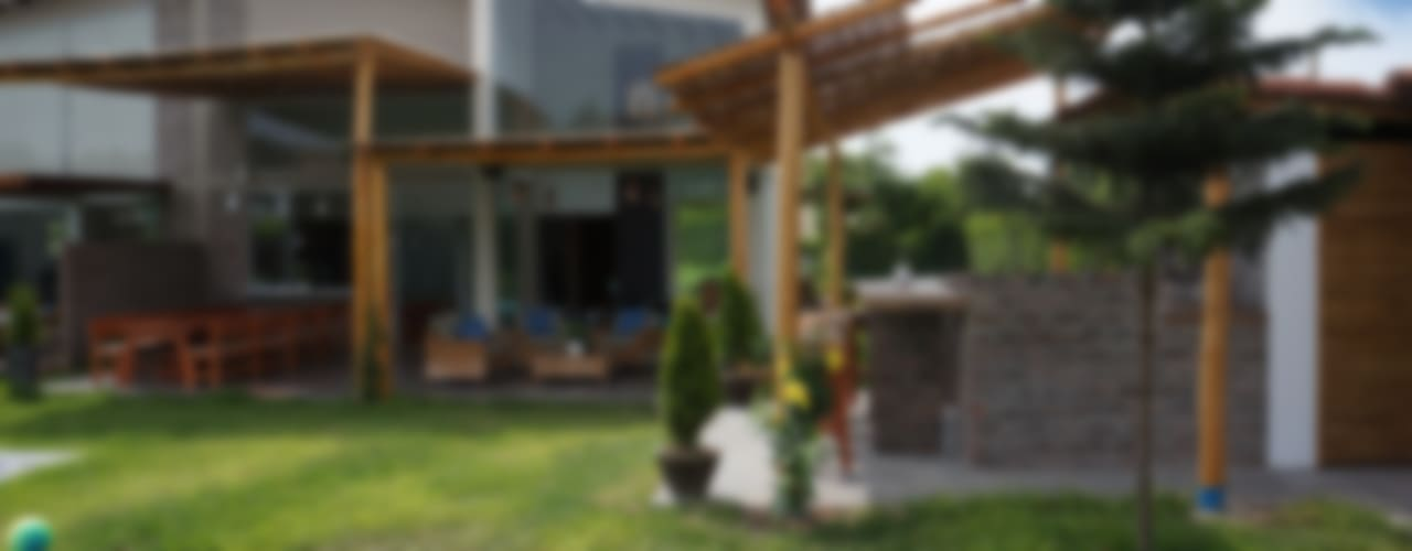 Jardines de estilo rústico por malu goni