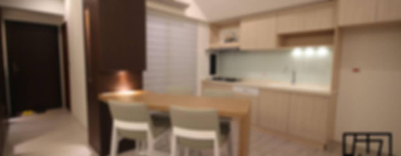 台北中正 蔡公館 協億室內設計有限公司 現代廚房設計點子、靈感&圖片