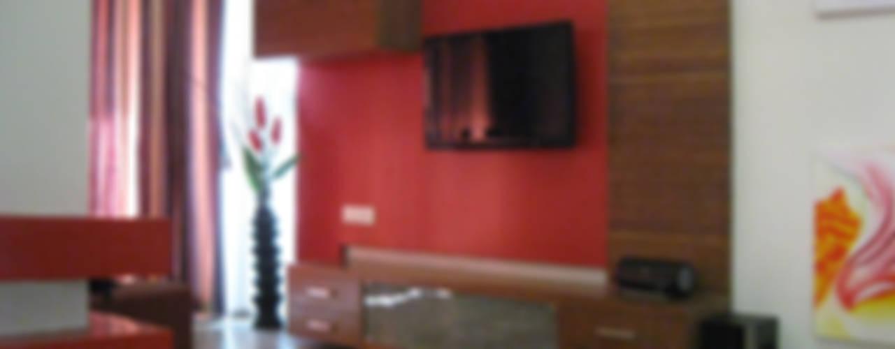 Studio Apartment :  Living room by Core Design