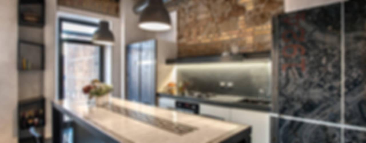 Cuisine de style  par studioQ, Industriel
