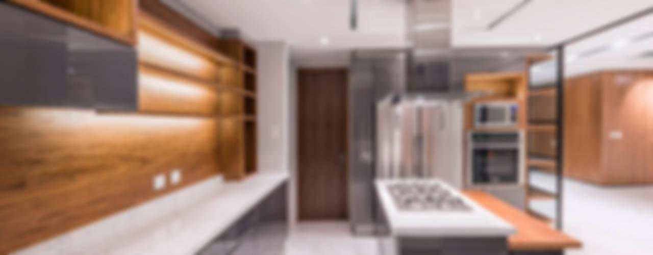 مطبخ تنفيذ Sobrado + Ugalde Arquitectos