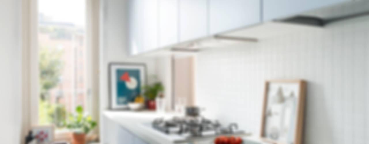 現代廚房設計點子、靈感&圖片 根據 studio wok 現代風