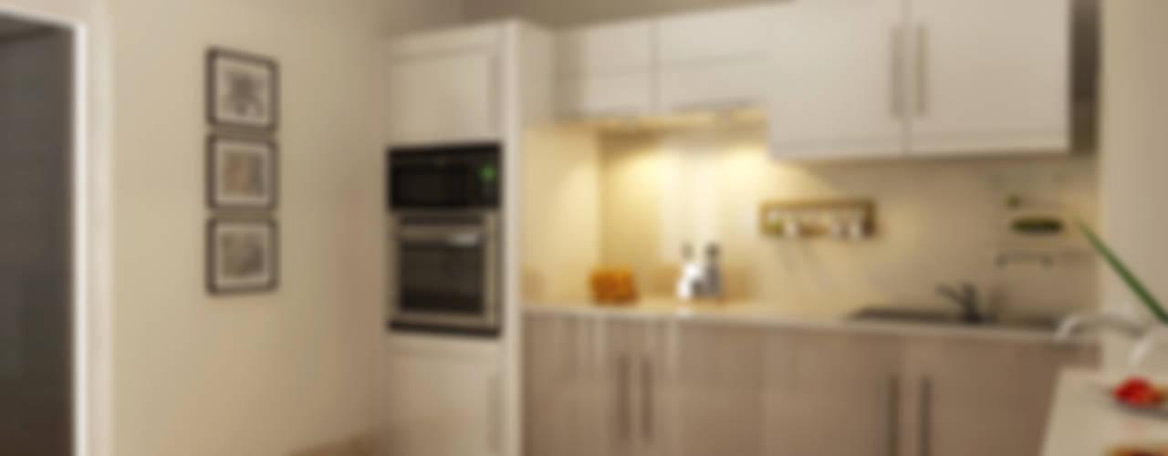 : modern Kitchen by Koncept Architects & Interior Designers,