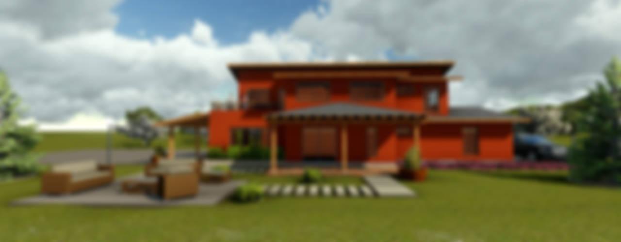 Casa de Campo Casas de estilo clásico de CA|Arquitectura Clásico