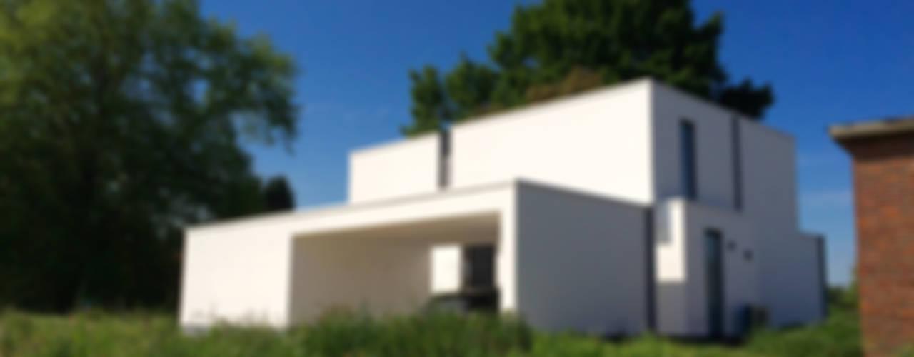 house VC-P Casas minimalistas de Niko Wauters architecten bvba Minimalista