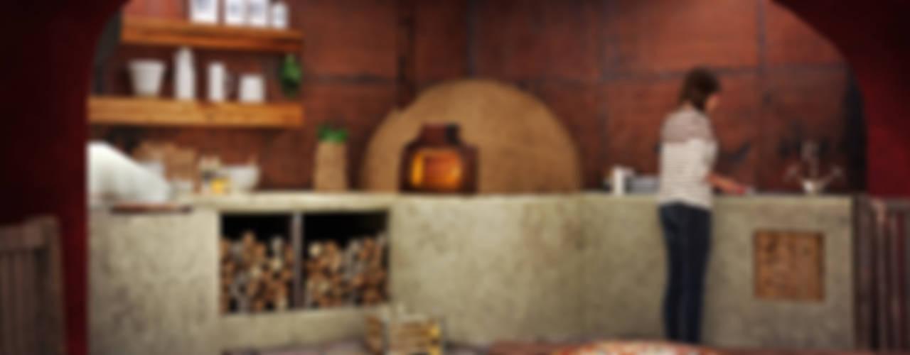 Cocinas rústicas de homify Rústico